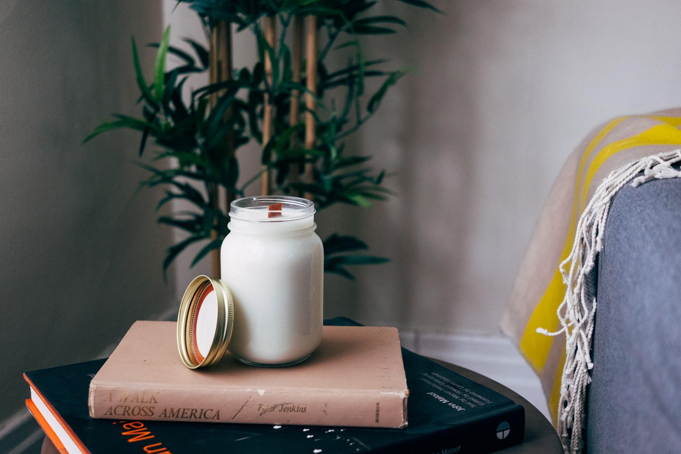 milk and books