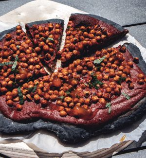 Indische-Pizza