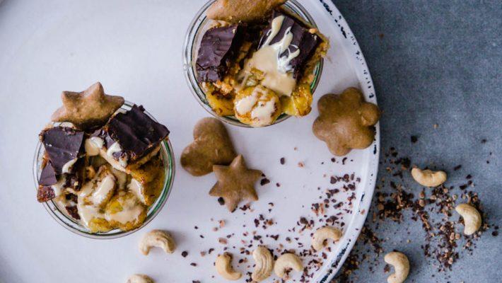 Schokoladen-Chai Haferbrei