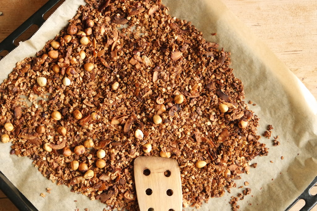 haselnuss-zimt-granola