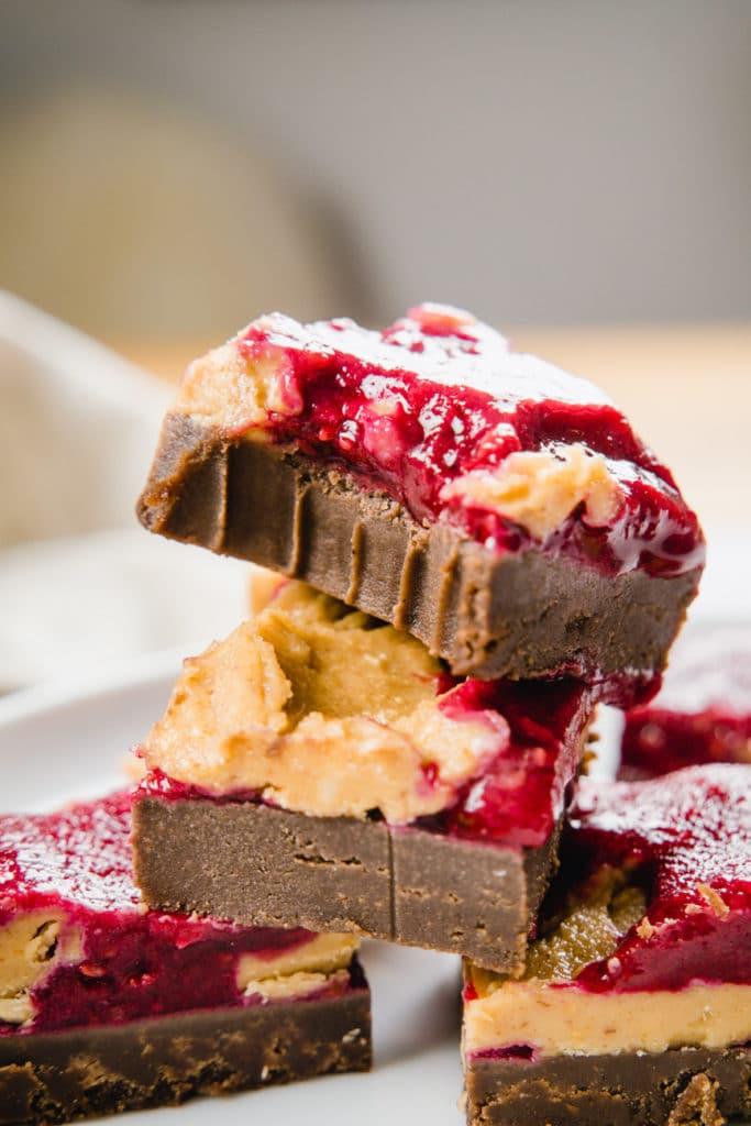 erdnuss jelly haselnuss brownies