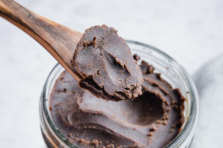 veganer brownie teig fudgy und reichhaltig